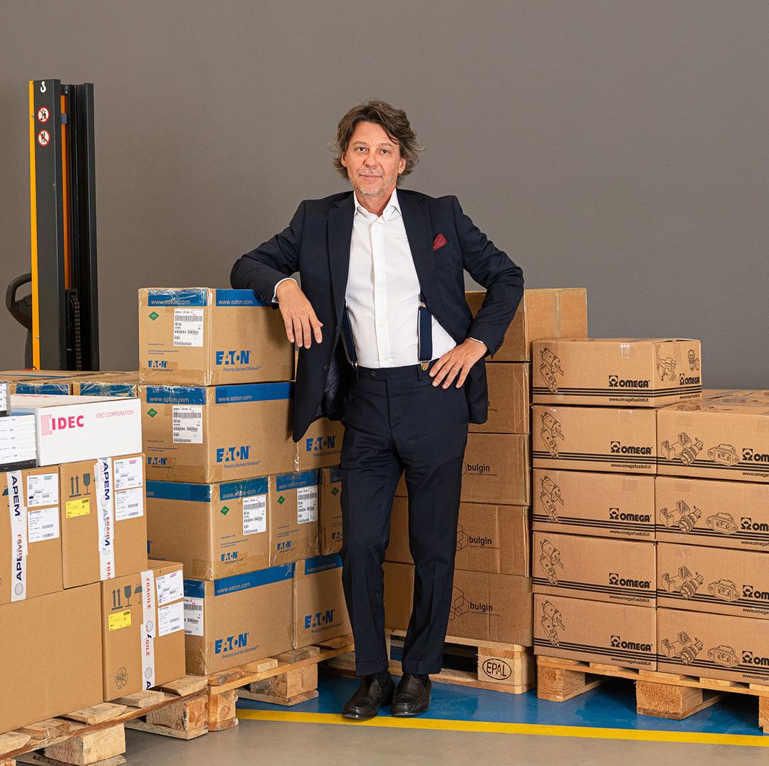 L'amministratore Roberto Ciboldi