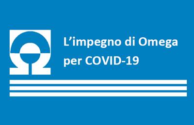 Le iniziative di Omega a supporto di clienti, comunità e collaboratori
