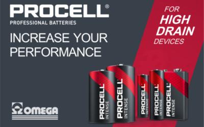 Batterie Procell Intense per dispositivi ad alto consumo