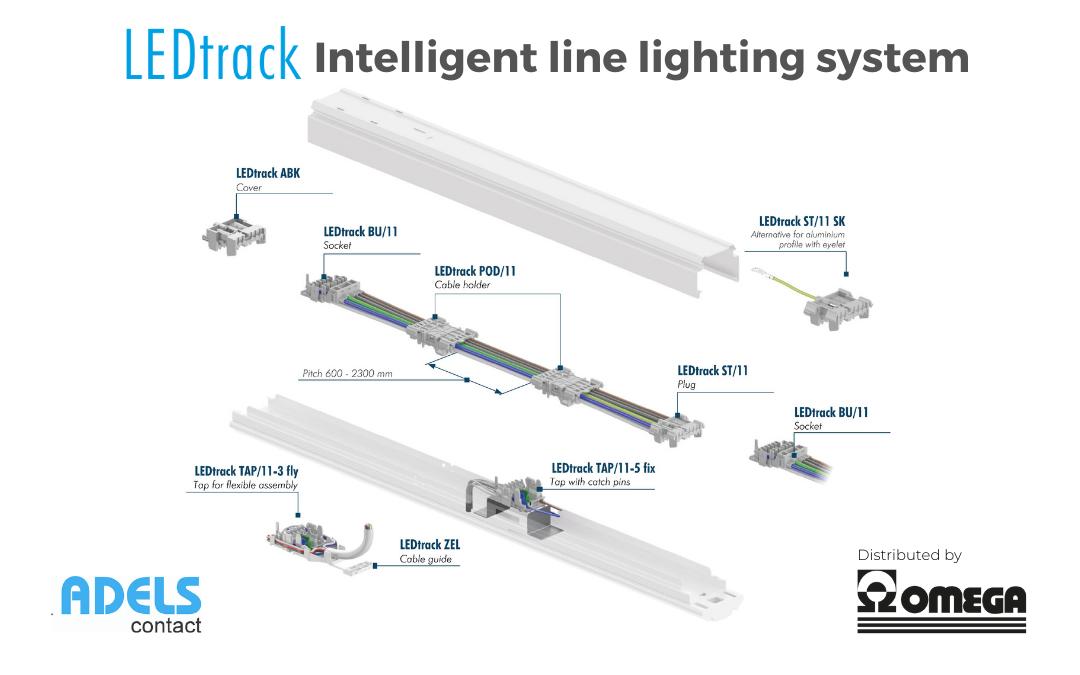 LEDtack Adels – Modulo intelligente per sistemi di illuminazione in linea