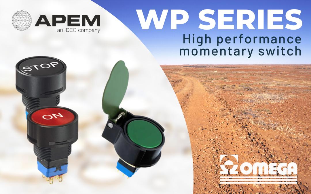 Serie WP – Interruttori momentanei ad alte prestazioni