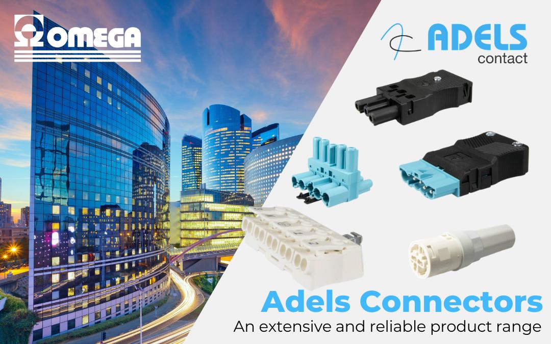 Connettori per illuminazione e morsetti Adels Contact distribuiti da Omega Fusibili