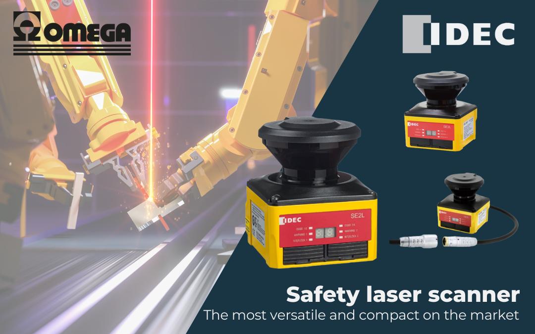 SE2L laser scanner di sicurezza Idec